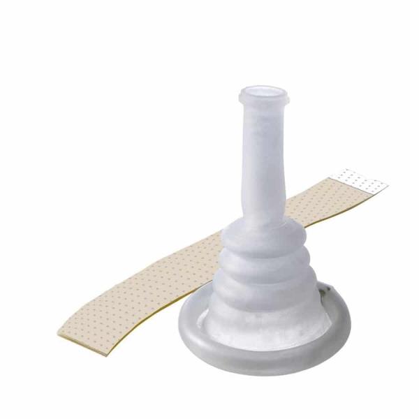 Conveen® Kondom-Urinale, latexfrei mit Haftstreifen