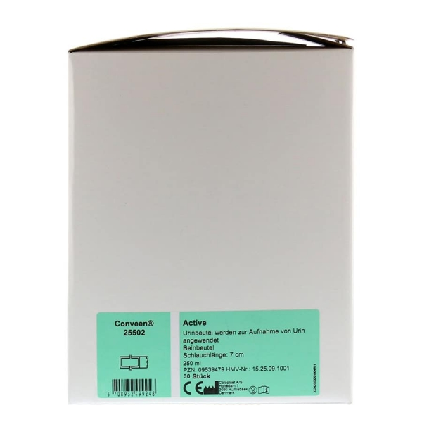 Coloplast Conveen active - 30 Stück im Karton