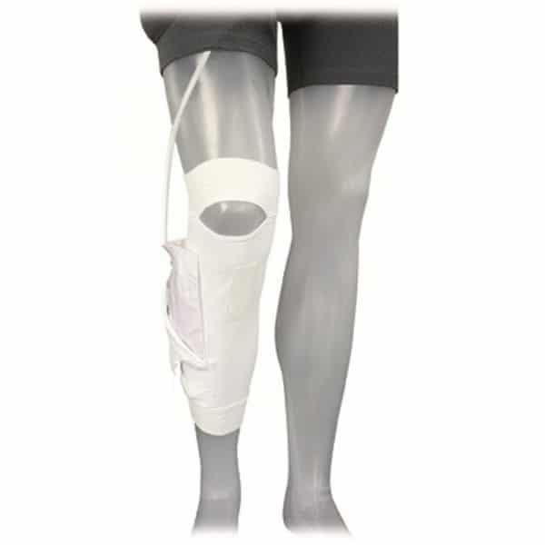 Care Fix Unterschenkelstulpe Beinbeutel-Halterung